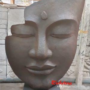 Garden statue in bali